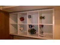 Brand new white IKEA rack