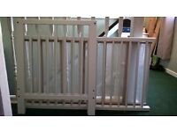 Ikea gulliver cot/bed 120x60 cm, mattress and bedding