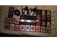 Atari 2600 + games + 2 controllers