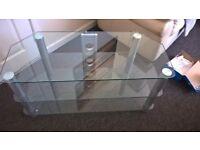 Glass TV Unit Brand New