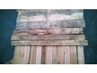 Pallet Wall, Reclaimed Wooden Planks, Cladding