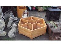 hexagon garden planter