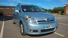 Toyota Verso 7 seater family car, great condition MOT till August 2017 just serviced and new clutch