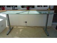 Ikea Galant Table Glass Top