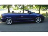 vauxhall astra convertable bertone edition inbeautiful condition electric softtop mot july 2018.