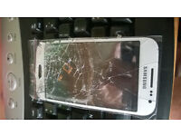 mobile phone cracked screen no problem