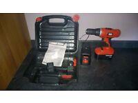 Black and Decker EPC188 Cordless Drill/Driver