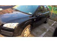ford focu lx black automatic 55 plate , 64500k