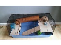 Hamster / Small Pet Cage with extra goods in cage