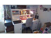 Ikea Hemnes White Desk