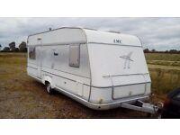 LMC large 4 berth touring caravan
