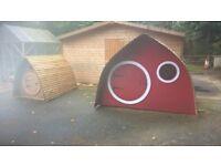 playhouse, dogkennel, chicken coop,