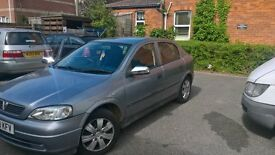 vauxhall astra club 1.6 for sale or swap for 7 seater
