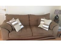 3 seater sofa with or without cushions