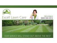 Excell lawn care Driveway Team.