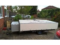 Trailer with Roof Bars and Cool Box