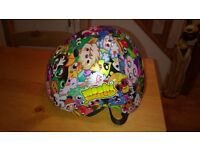 Boys/Girls Moshi Monster Bicycle Helmet