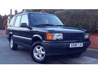1999 RANGE ROVER 2.5 DIESEL DSE P38 / LOW MILEAGE / FULL HISTORY / FULL MOT / GOOD CONDITION