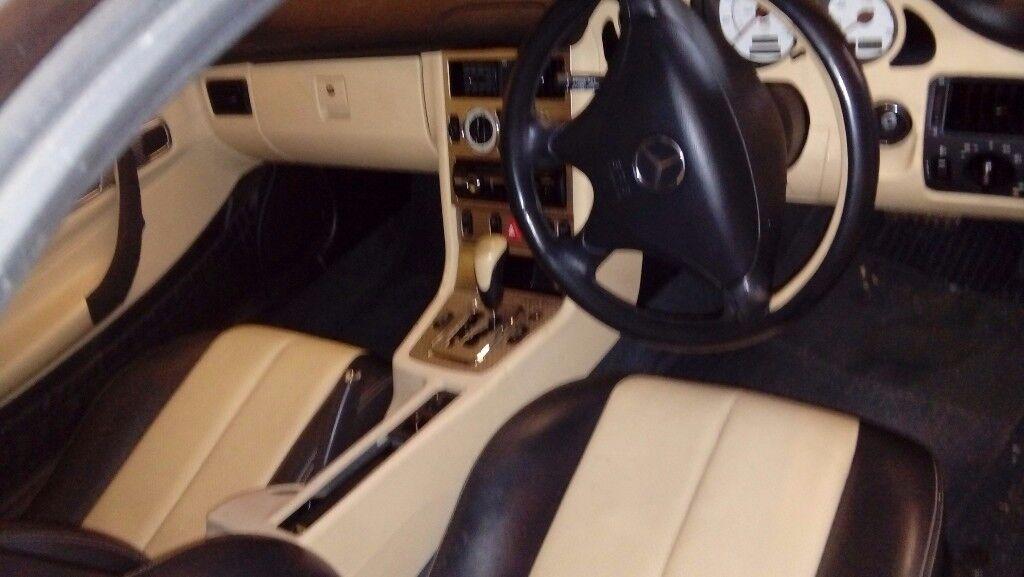 Mercedes slk compress lovely car with 6 months mot all works as should