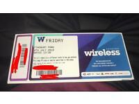 Wireless festival tickets FRIDAY J COLE POST MALONE