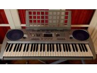 Yamaha PSR-275 Keyboard including Keyboard Stand & Music Stand - GREAT condition