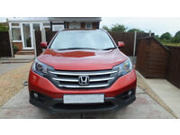 Honda CR-V EX iDTEC Automatic, Passion Red Metalic 27473 miles one owner.