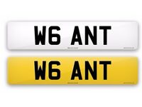 Private number plate WANT for sale