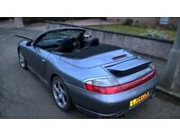 Porsche 911 3.6 Carrera 4S (996 Wide Body) Convertible, AWD manual with Hard Top - Very Low Mileage