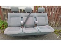 VW T4 Caravelle rear bench seats