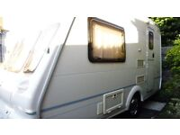 2 berth bailey ranger lightweight fixed bed fantastic caravan unique interior