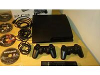 Playstation 3 - 21 Games, 2 controllers 500GB