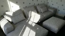 BRAND NEW Corner Sofa with foot stool