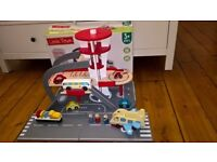 Childrens Toy Wooden Airport (used once excellent condition)
