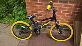 Rooster no Mercy 20 Black / Yellow Kids BMX Bike
