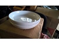 2 extra large serving bowls