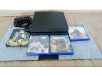 PS4 GAMING CONSOLE (1TB) + GAMES - MIGHT SELL AS A BUNDLE WITH TV