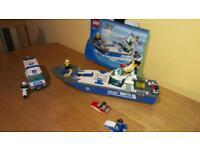 Lego City 'Police Boat' 7287 (+ extras)