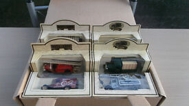 Set of 6 Boxed Die Cast Vehicles in the original package.