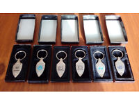 QUALITY CAR KEY RING BRAND NEW MAZDA VW VOLVO HONDA FIAT HYUNDAI