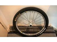 Mavic crossmax sx wheels and new maxxis high roller tires