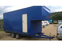 Large Luton Box Trailer for sale. £1500 OVNO.