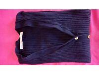 Jumper cardigan dark blue
