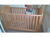 Mothercare Playbead Cot in good condition - Brackley