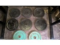 weight plates 110kg