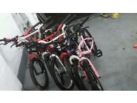 Job lot of BMX bikes and others