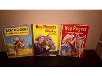 Vintage & Rare Roy Rogers Cowboy Annuals - 1950's - Books
