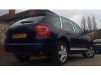 2004 PORSCHE CAYENNE 3.2 TIPTRONIC S. ONLY 69,000 MILES. FULL HISTORY. FULLY LOADED SPEC
