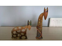 Catalandia - Modern Cat Ornament Figures