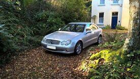 Mercedes CLK 270 CDI. Fabulous car, family car has forced sale.