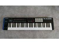 M-Audio Oxygen 61 USB MIDI keyboard